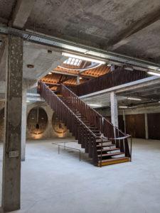 Cidrerie Halle - Escalier monumental